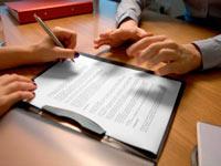 Порядок оформления документов