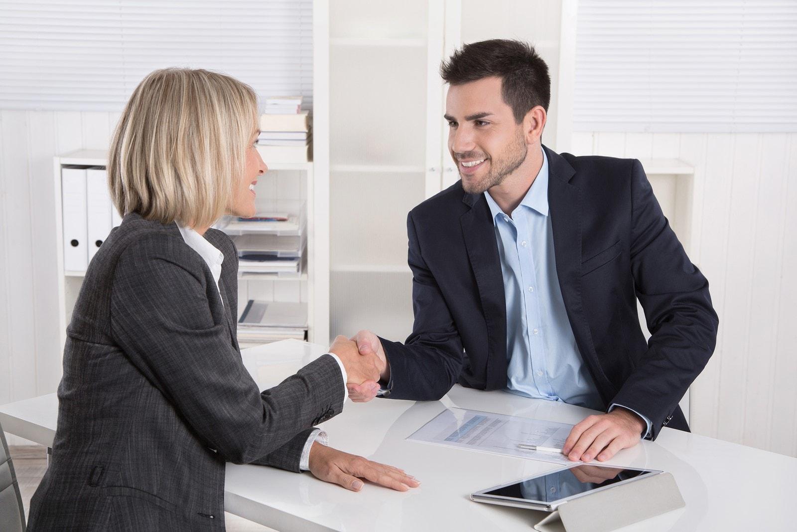 Собеседование при приеме на работу торгового представителя
