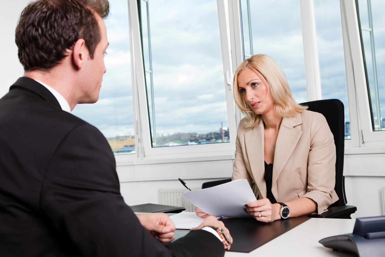 Собеседование на должность менеджера по продажам