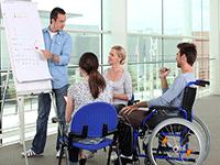 Прием на роботу людей с ограниченными возможностями