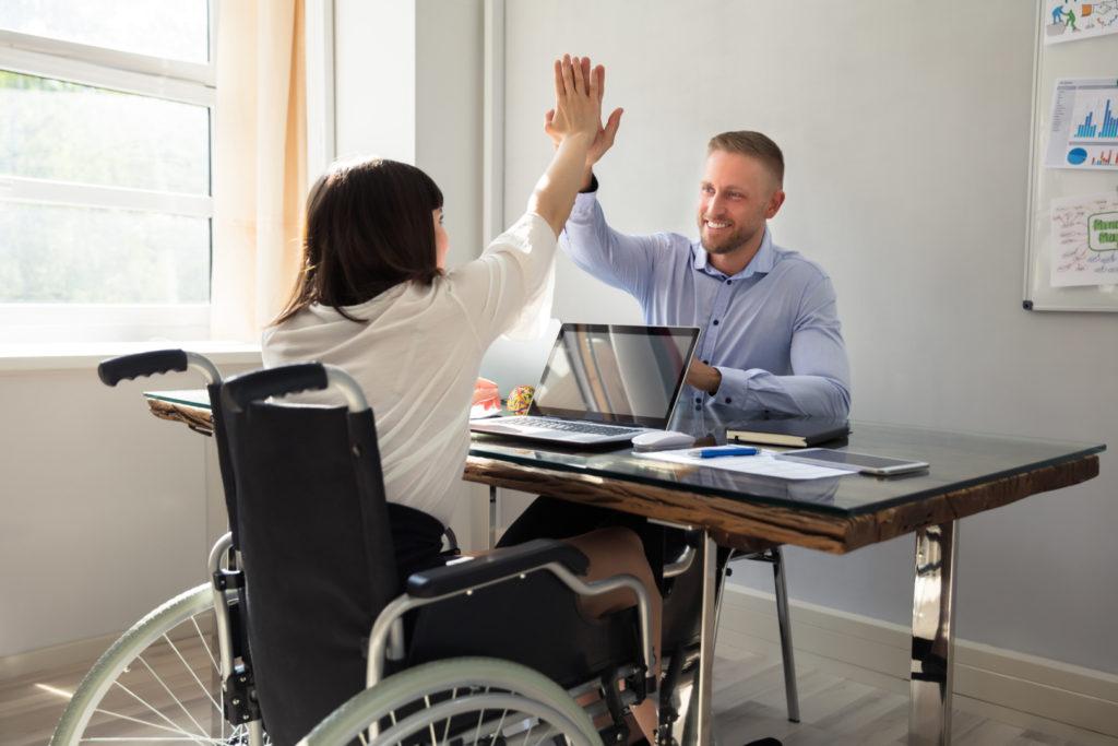 Специальные места для работы инвалидов